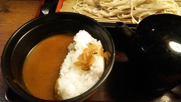 「(小)カレーセット 520円」@生そば 玉川 池袋東口店の写真
