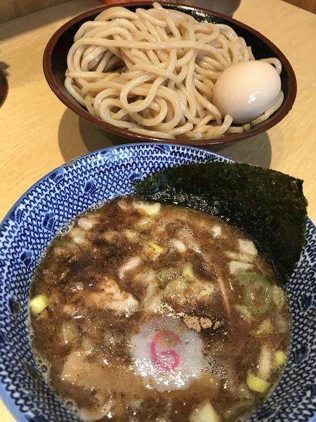 「つけ麺 味玉」@くり山の写真