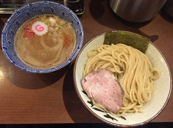 「海老つけ麺800円(醤油)」@俺の麺 春道の写真