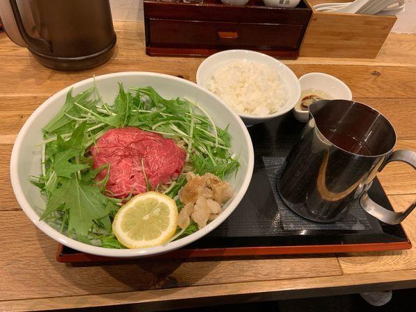 「松坂牛麺1080」@松阪牛麺 西宮本店の写真