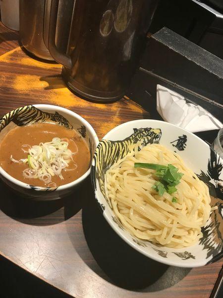 「ド濃厚つけ麺」@麺屋武蔵 鷹虎の写真