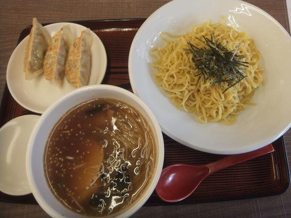 「魚介醤油つけめん669円(クーポンで半餃子無料)」@めん王 若柴店の写真