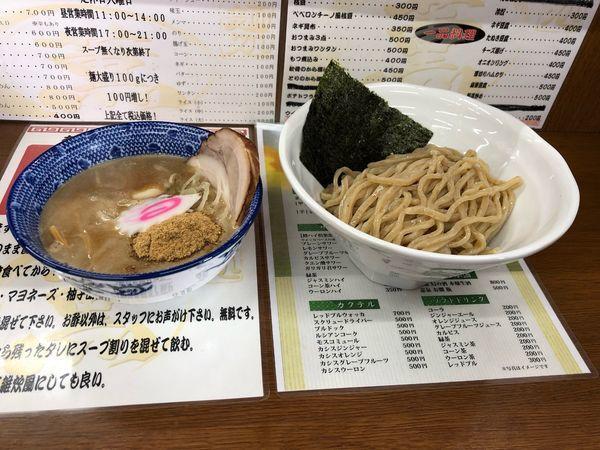 「普通のつけ麺  800円」@麺処 薫の写真