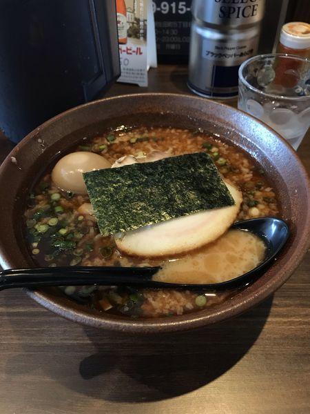 「魚(中盛)+味玉」@麺屋 壱 ICHIの写真