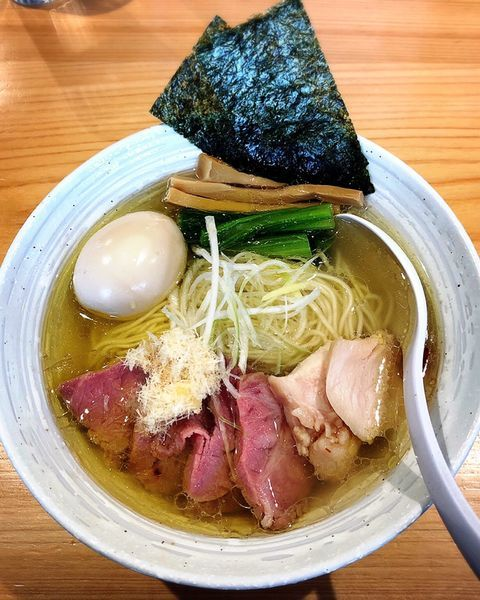 「特製らぁ麺(塩)」@麺屋 さくら井の写真