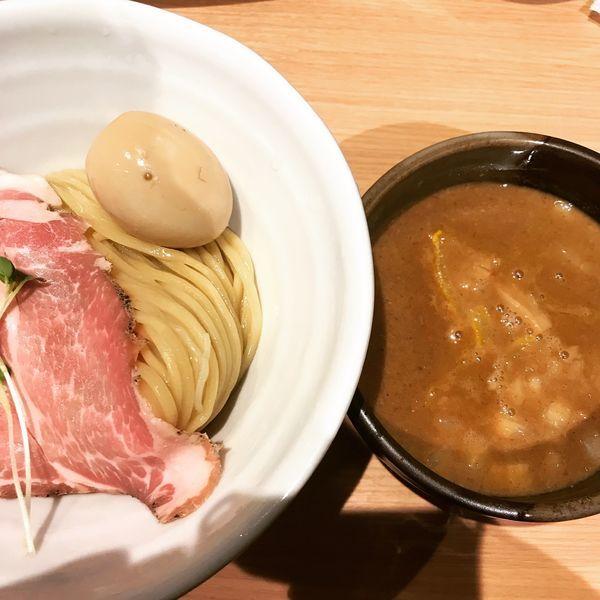 「豚骨魚介つけ麺」@麺処 景虎 新越谷ヴァリエ店の写真