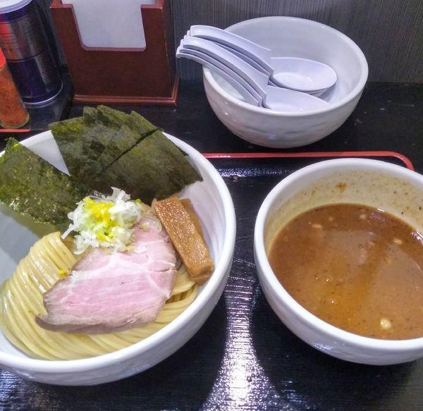 「つけ麺、海苔」@濃厚宗田つけめん 麺屋縁道の写真