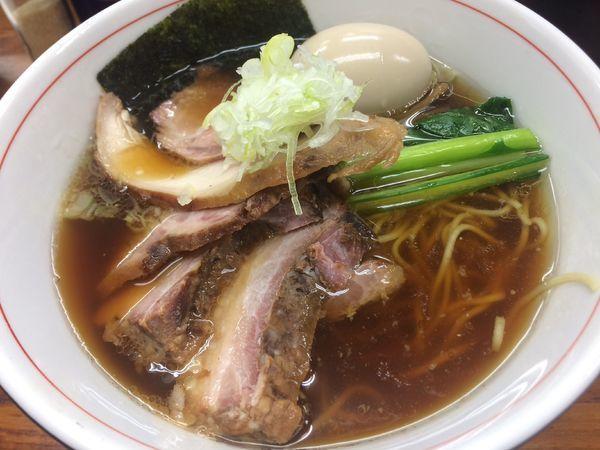 「チャーシュー麺¥1000、味玉¥100」@らぁめん 夢の写真