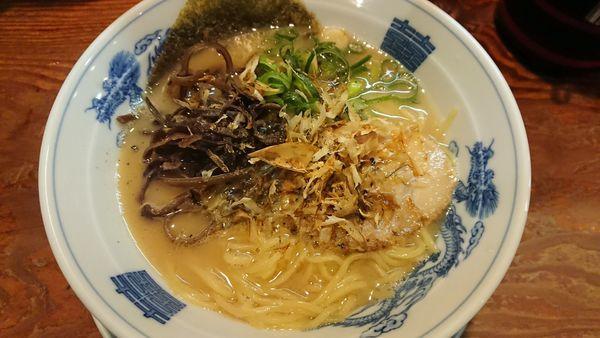 「和風とんこつらぅめん 720円」@かくれ助屋の写真