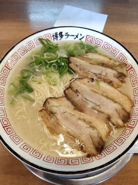 「ラーメン大盛(780円)」@博多ラーメン 片岡屋 姫路南店の写真