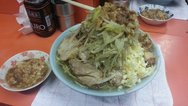 「国産ブタメン」@ラーメン富士丸 神谷本店の写真