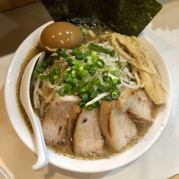 「【限定】豚コク正油ラーメン ¥800」@麺屋 扇 SENの写真