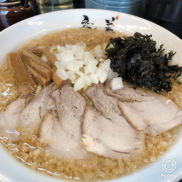 「背脂ラーメン」@らーめん 竜美 与野本町店の写真
