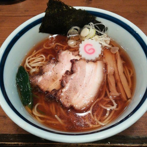 「中華そば(細麺)」@中華そば 志の田の写真