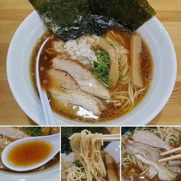 「煮干し中華そば(醤油)+海苔=850円」@煮干し中華そば 麺屋 熱翔の写真