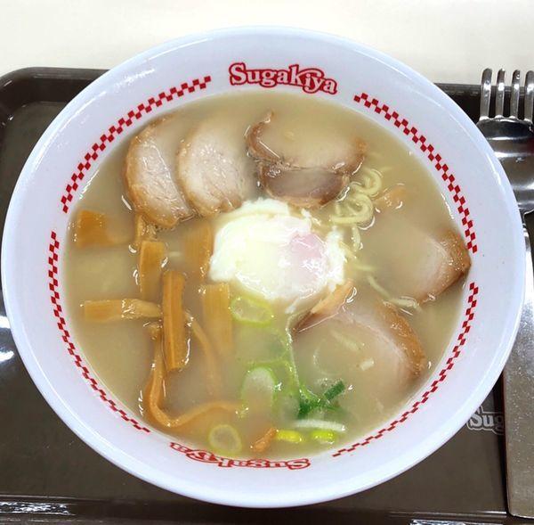 「特製ラーメン」@Sugakiya 岡崎シビコB1店の写真