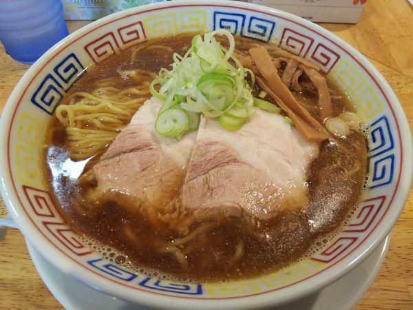 「あっさり煮干し醤油ラーメン ※クーポンで500円」@麺匠 胡桃の写真