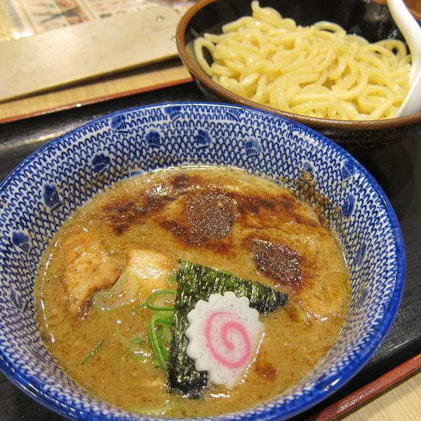 「濃厚豚骨魚介つけ麺(並・あつもり)788円」@三竹寿 本店の写真