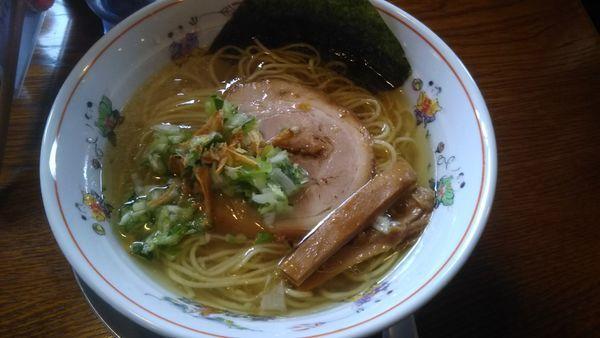 「塩ラーメン 730円」@中華そば 一楽の写真