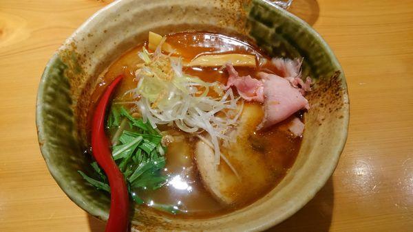 「焼きあご塩らー麺」@焼きあご塩らー麺 たかはし 上野店の写真