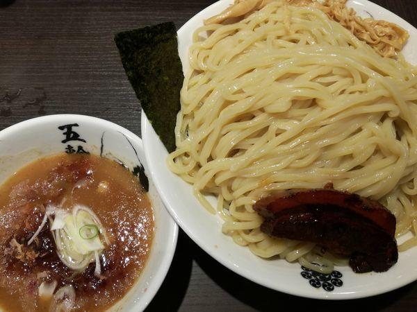 「黒角煮濃厚つけ麺」@麺屋武蔵 五輪洞の写真