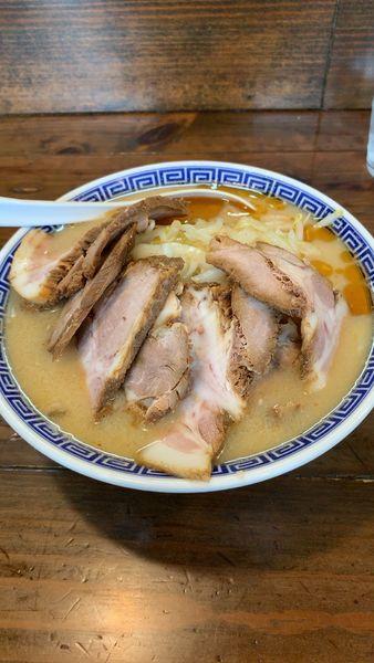 「上越味噌チャーシュー麺」@niるい斗の写真