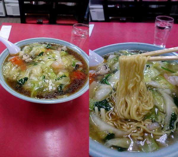 「『エビそば(¥950)』」@北京料理 忠豊の写真
