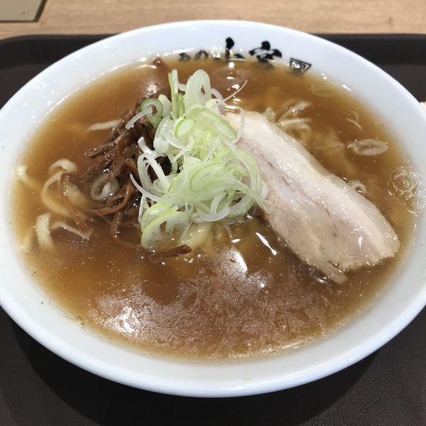 「醤油らーめん(¥750)」@らーめん食堂 あの小宮の写真