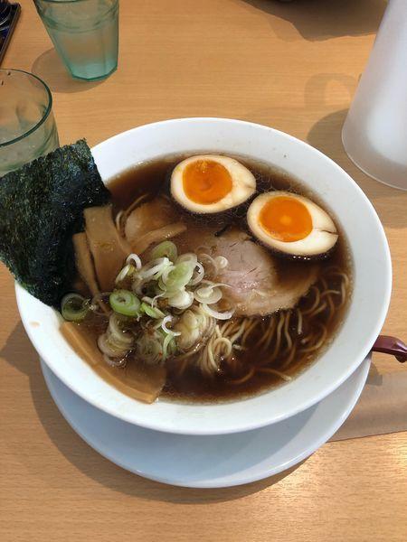 「味玉醤油らぁ麺」@らぁ麺食堂 吉凛の写真