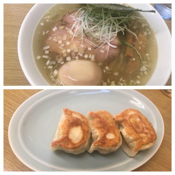 「塩ラーメン」@麺屋 つるるの写真
