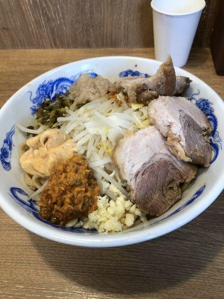 「Tacoまぜ 豚増し2枚」@ジャンクガレッジ 熊谷店の写真
