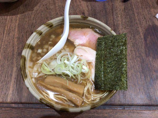 「煮干し醤油そば」@らーめん つけめん 和み屋の写真