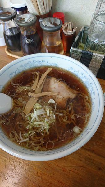 「醤油ラーメン」@ら~めん石狩の写真