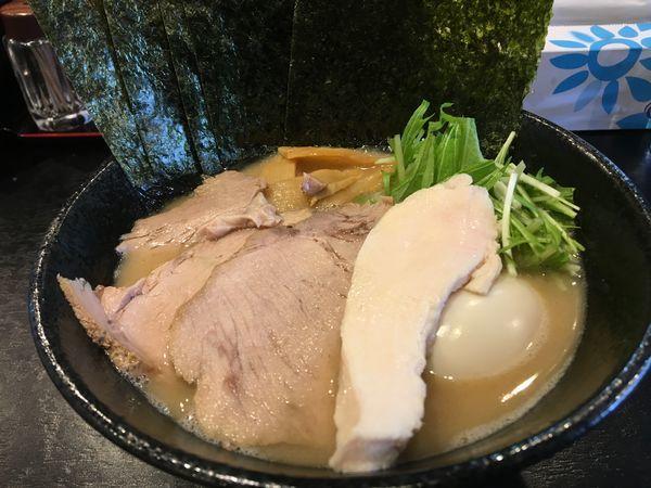 「特製和風ラーメン」@麺や 西輝の写真