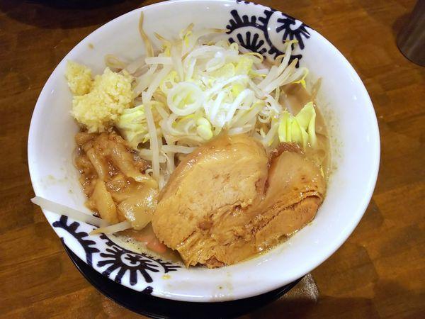「洋二郎(ニンニク有)+EBIスタ丼 850+300円」@特級中華蕎麦 洋介の写真