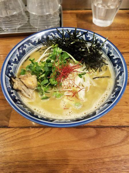 「牡蠣 ラーメン」@麺や佐市の写真