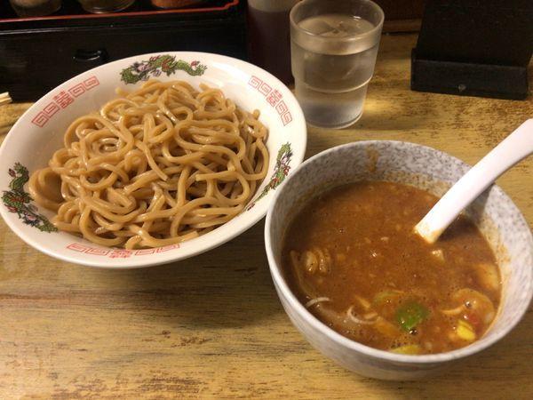 「辛トマトカレーつけ麺」@中華 つけ麺 はるきの写真