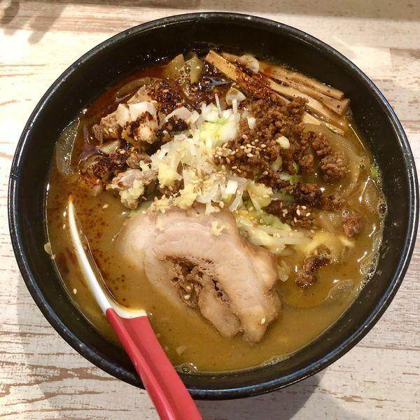 「【Twitter限定】麻辣味噌カレー麺 ¥880」@麺屋 誉の写真