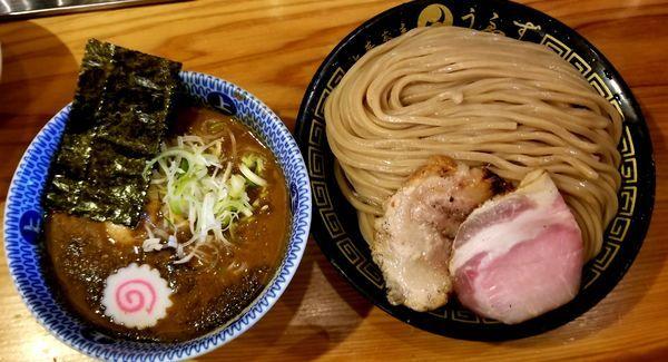 「つけ味玉(大)+チャーシューご飯」@中華蕎麦うゑずの写真