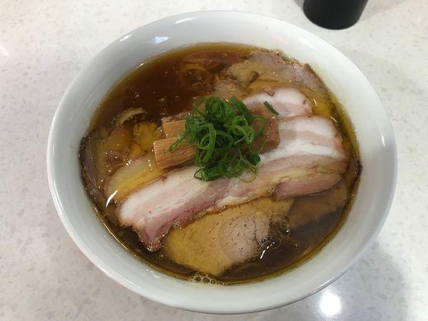 「醤油チャーシュー麺」@ラーメン星印の写真