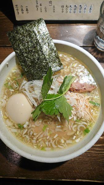 「鶏そば 塩」@神田とりそば なな蓮の写真