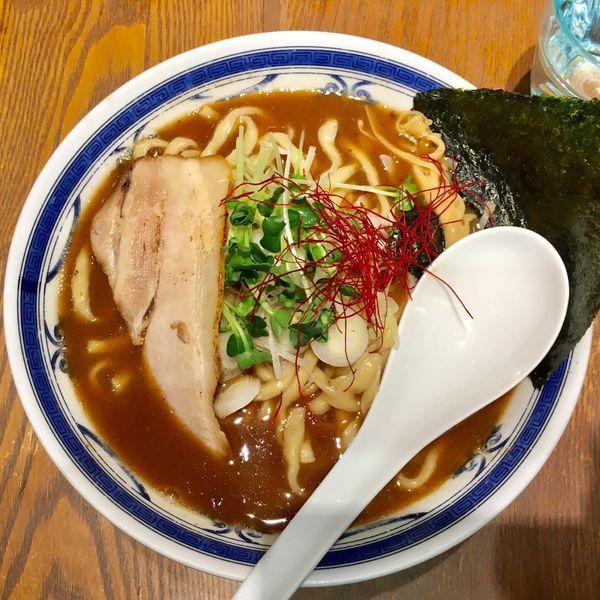 「鶏魚介らーめん 850円」@つけ麺や 武双 グランツリー武蔵小杉店の写真