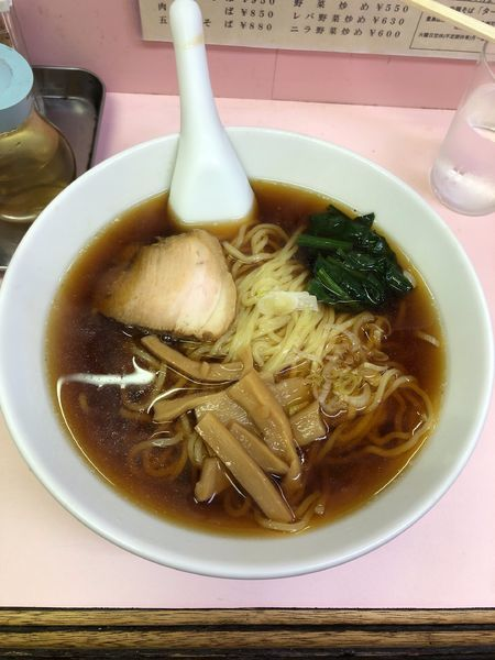 「餃子+ビール+ラーメン600円」@ターキーの写真