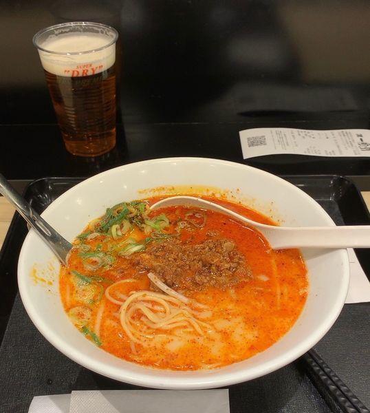 「からか麺 三辛」@博多一風堂 成田空港店の写真