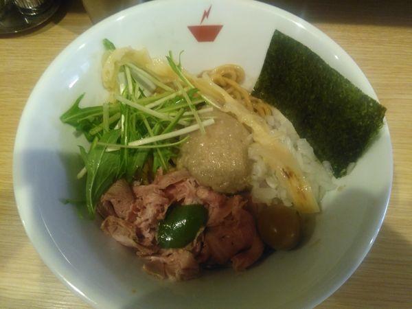 「蟹油そば¥850+雑炊セット¥130」@crab台風。の写真