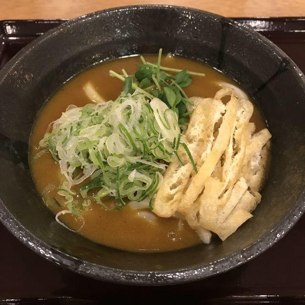 「カレーうどん(¥750)」@手打ちうどん いわしやの写真