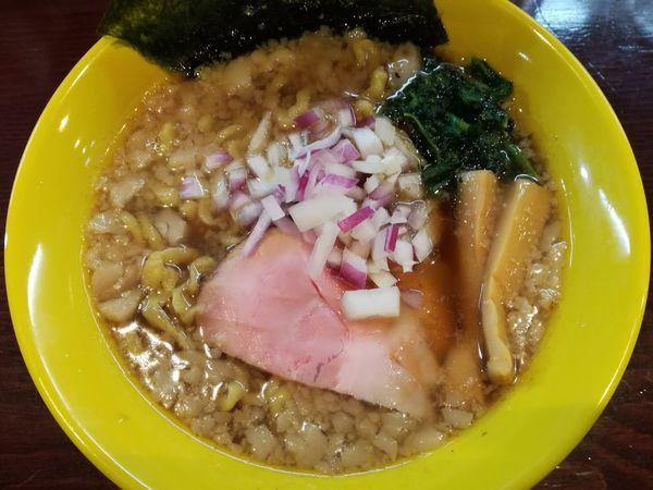 「煮干しラーメン(醤油)」@らーめん 惠本将裕の写真