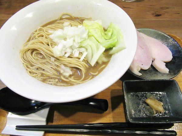 「濃厚煮干(780円)」@ラーメン 裏健やかの写真