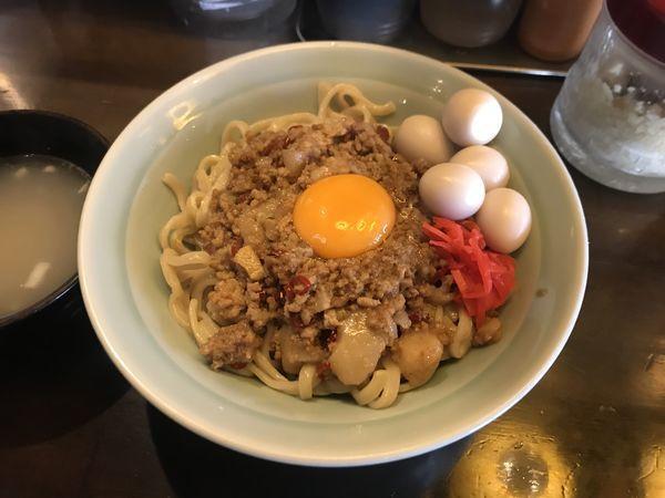 「マシライス【麺変更250g】」@立川マシマシ 9号店の写真