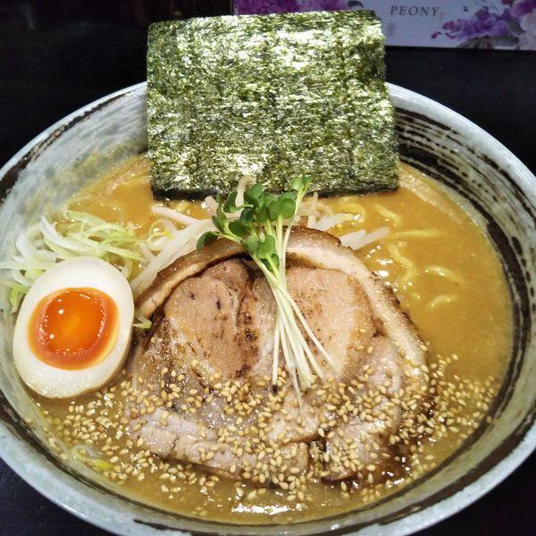 「濃厚味噌ラーメン」@麺屋ひじりの写真